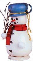 Snowman with Pot