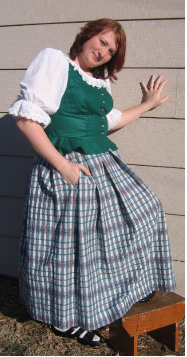 Vest and Skirt