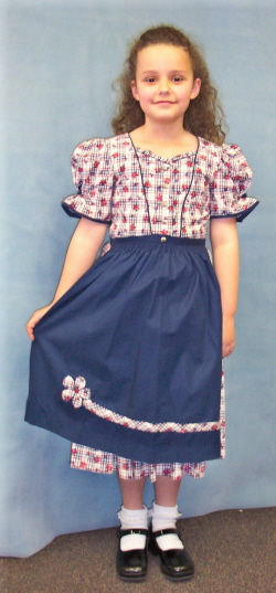 Girl's Dirndl Dress