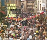 German Holidays and Folk Customs