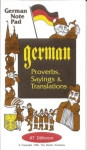 German Note Pad